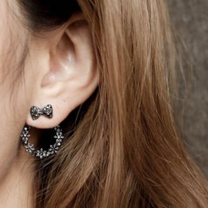 Jewelry - ヅ Free with $40 purchaseヅ 🖤🖤Black Earrings 🖤🖤